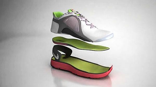 Cấu tạo giày thể thao