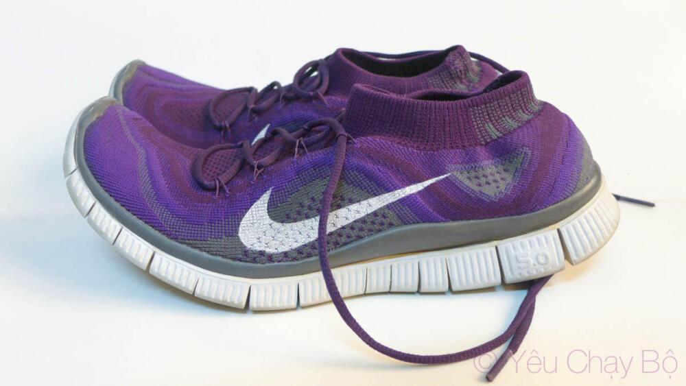 Hình dáng Nike Free Flyknit
