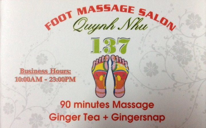 Foot Massage Quynh Nhu
