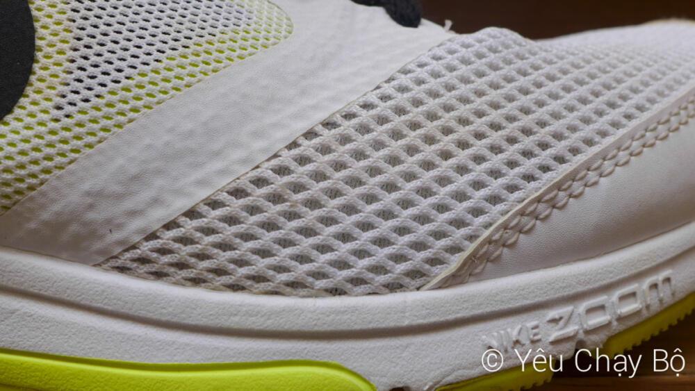 Công nghệ No Sew trên thân giày Nike Zoom Fly