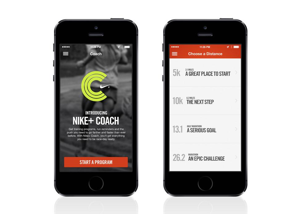 Tính năng Nike+ Coach