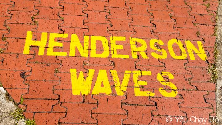 Đường đến cầu Henderson Waves