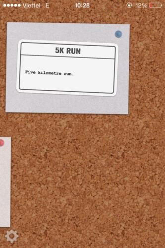 Kết thúc là cự ly chạy 5K