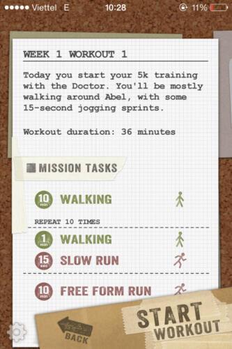 Chi tiết một chuyến phiêu lưu với Zombies Run 5K Training