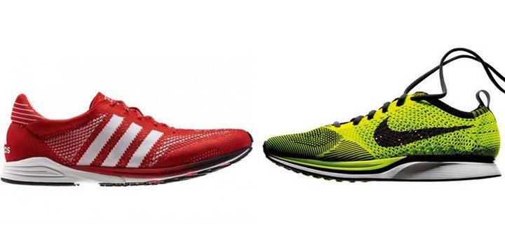 Adidas và Nike luôn so kè nhau trong mảng công nghệ