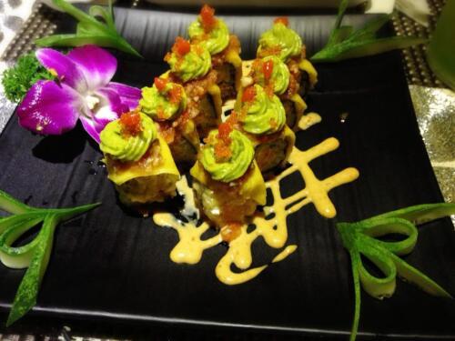 Một món sushi rất đẹp mắt của Ichiban Sushi