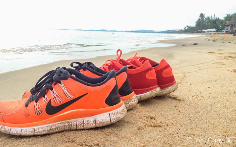 Phơi giày trên biển Phú Quốc ˆˆ