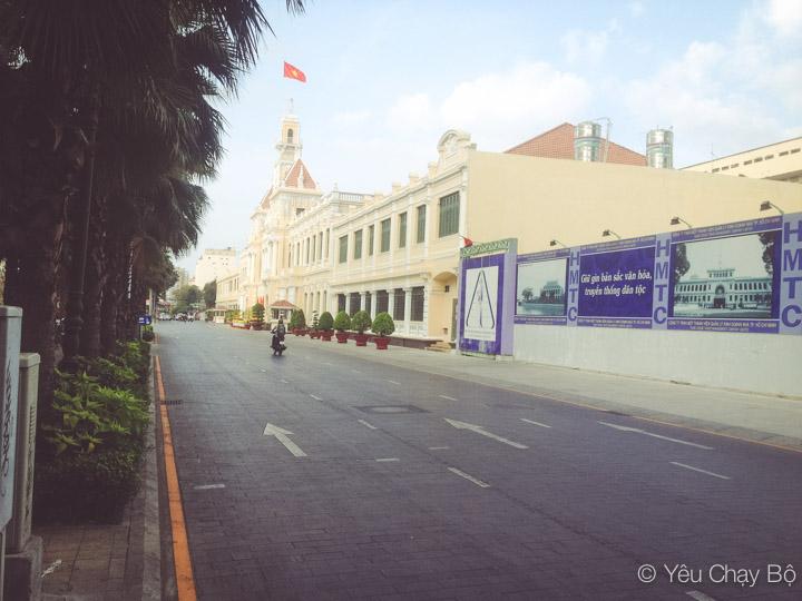 Uỷ Ban Nhân Dân TP.HCM và con đường lót gạch đầu tiên - Lê Thánh Tôn