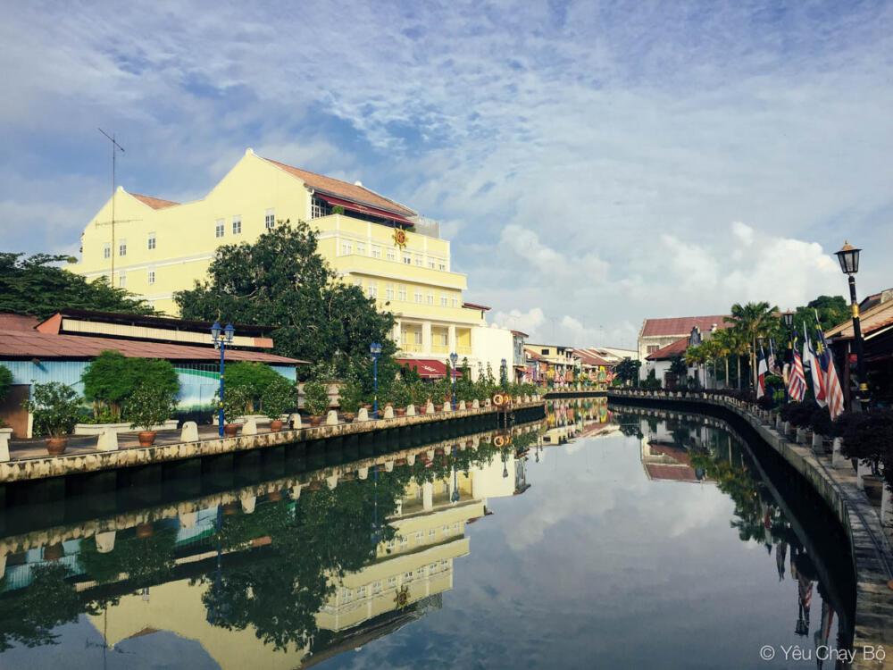 Tiếp tục một góc ảnh Malacca Riverside