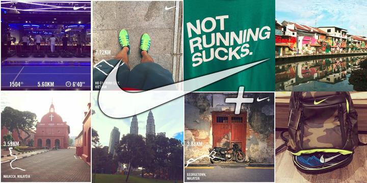 Hướng dẫn Nike+ Running – Chia sẻ hình ảnh và thành tích lên Facebook, Instagram