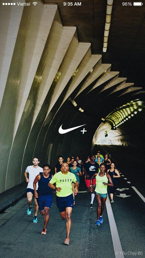 Ứng dụng Nike+ Running trên iPhone 6