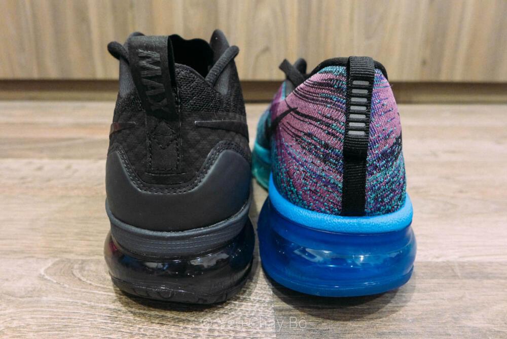 Nike Air Max TR 180 sánh đôi cùng Nike Flyknit Max