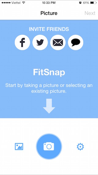 Giao diện FitSnap