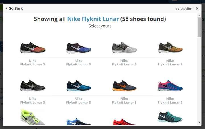 Tiếp theo, chọn Nike Flyknit Lunar 3