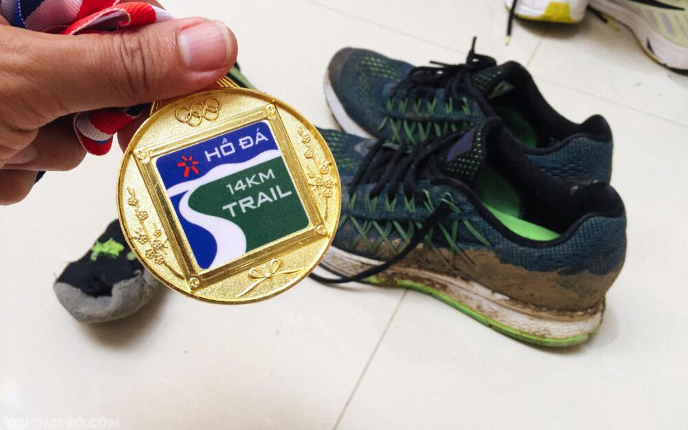 Huy chương kỉ niệm Hồ Đá Trail Run