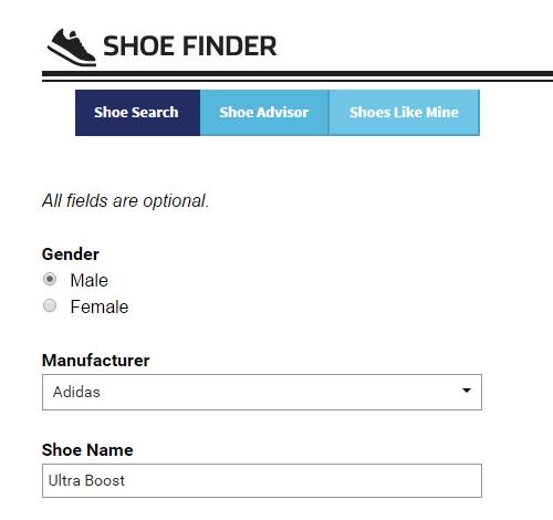 Shoe Finder - 2