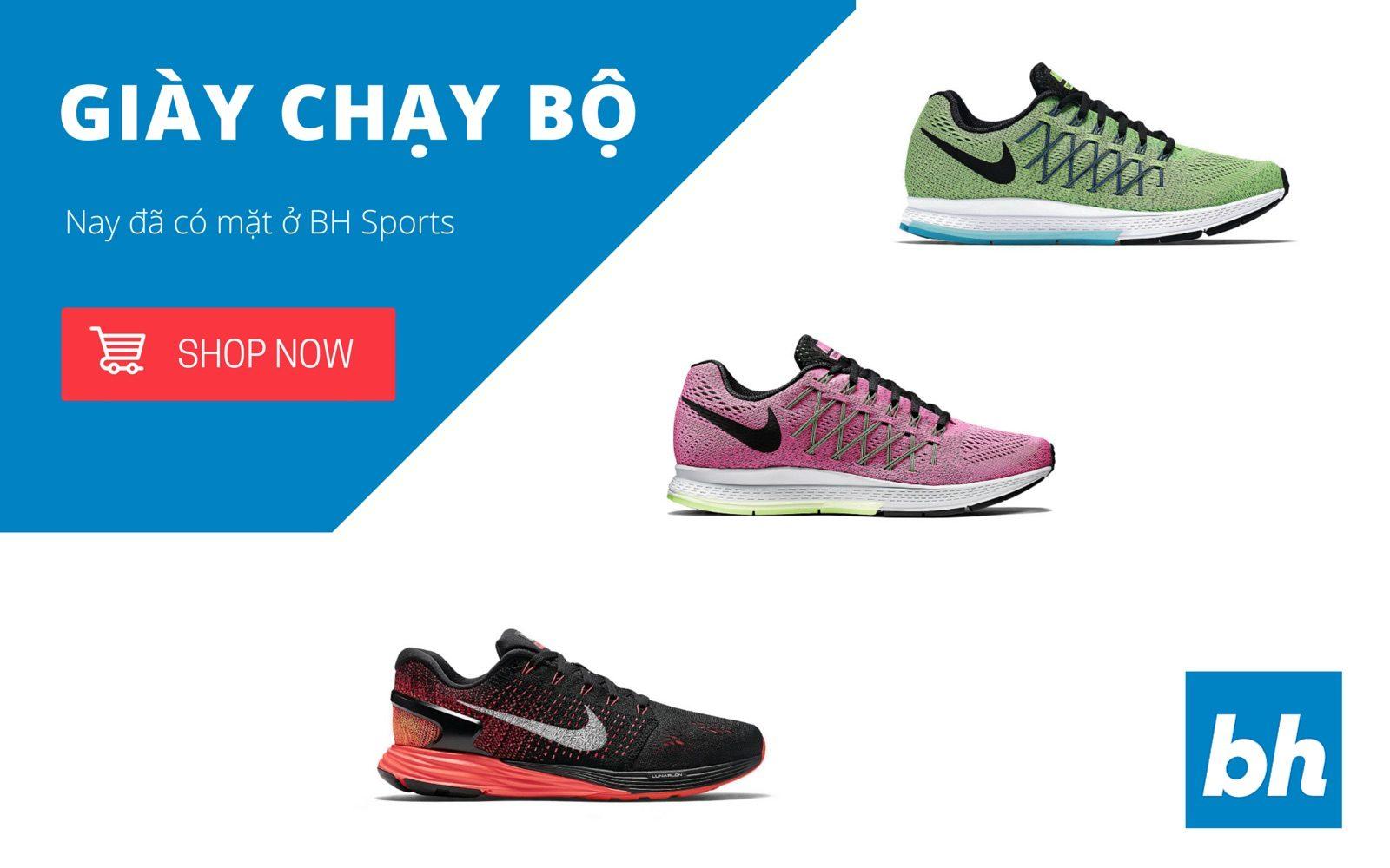 [QC] BH Sports chính thức phân phối Giày Chạy Bộ