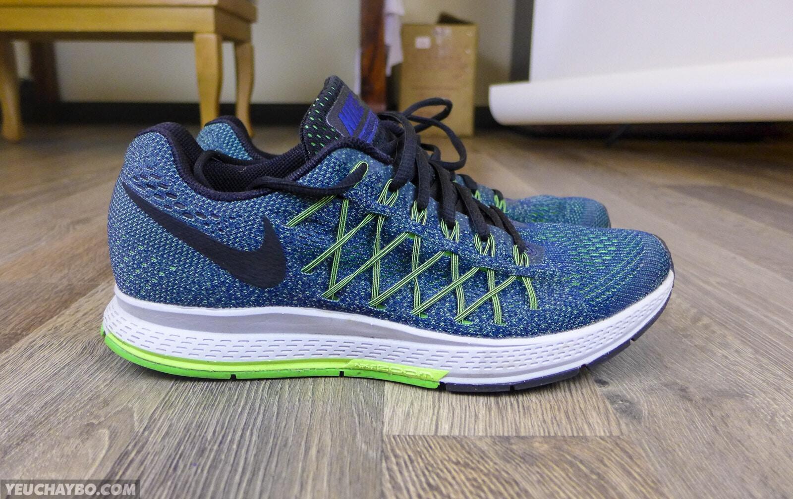 Đánh giá Nike Air Zoom Pegasus 32 – Yêu từ lần chạy đầu tiên