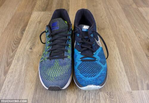 Nike Air Zoom Pegasus vs. Nike Flyknit Lunar 3