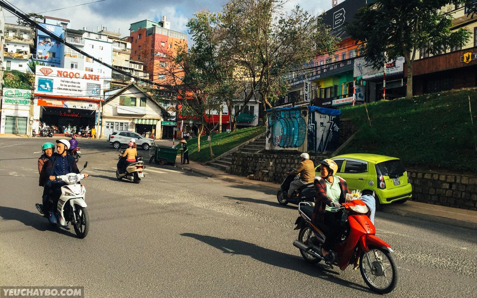 Bắt đầu từ khách sạn River Price, đường Phan Đình Phùng
