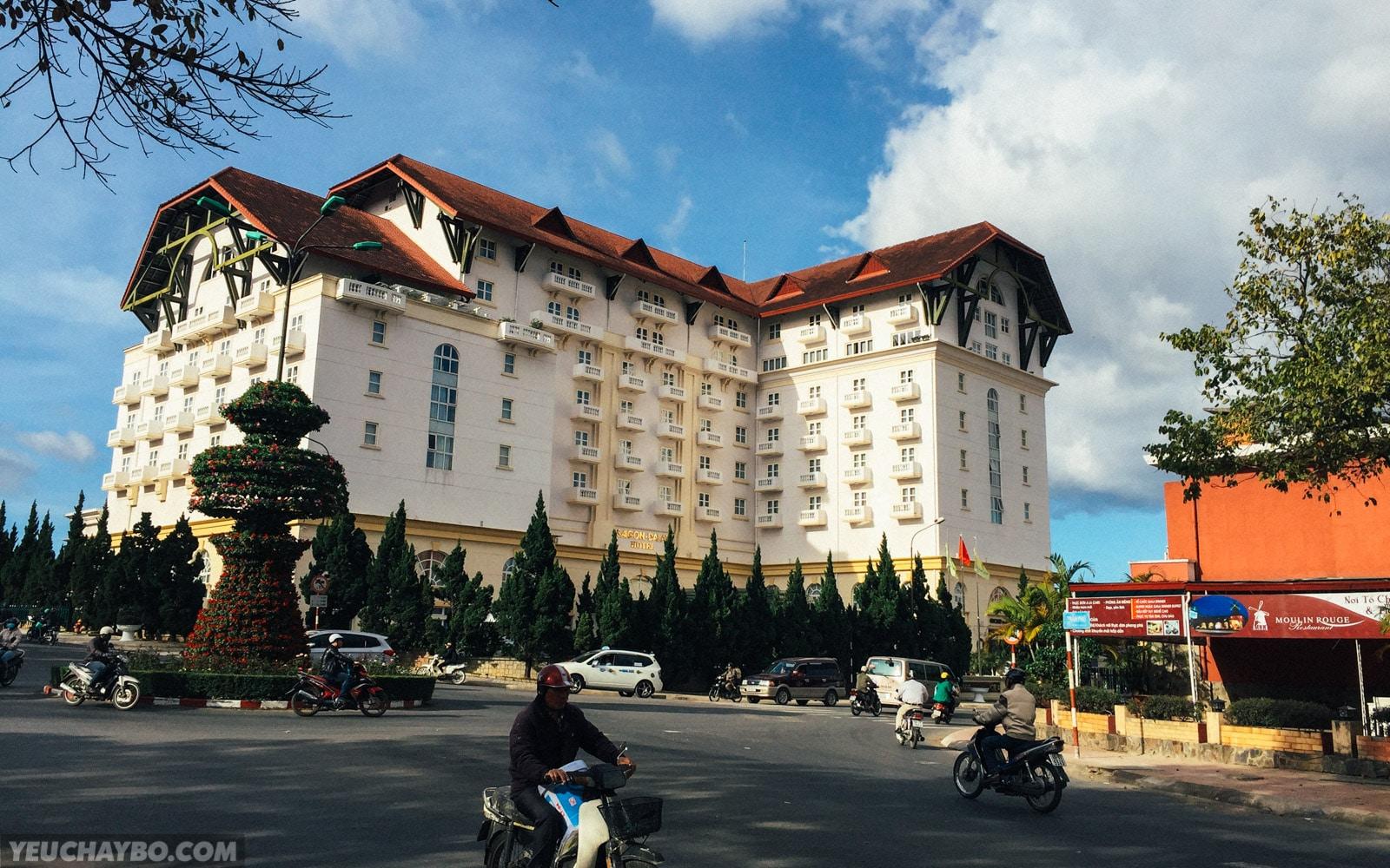 Khách sạn Sài Gòn - Đà Lạt ngay góc đường Trần Phú - 3 Tháng 2