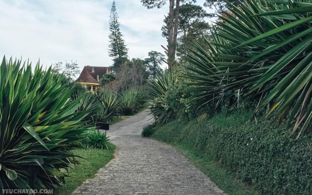 Đường dốc bên trong Ana Mandara Đà Lạt
