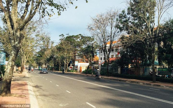 Chui ra được đường Quang Trung
