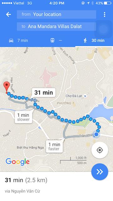 Cầu viện Google Maps