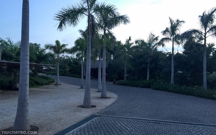 Sảnh đón khách của AROMA Resort