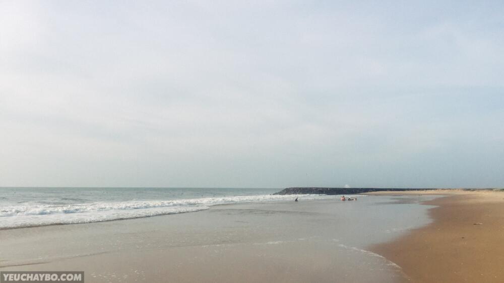 Bãi biển chỗ này đẹp ghê