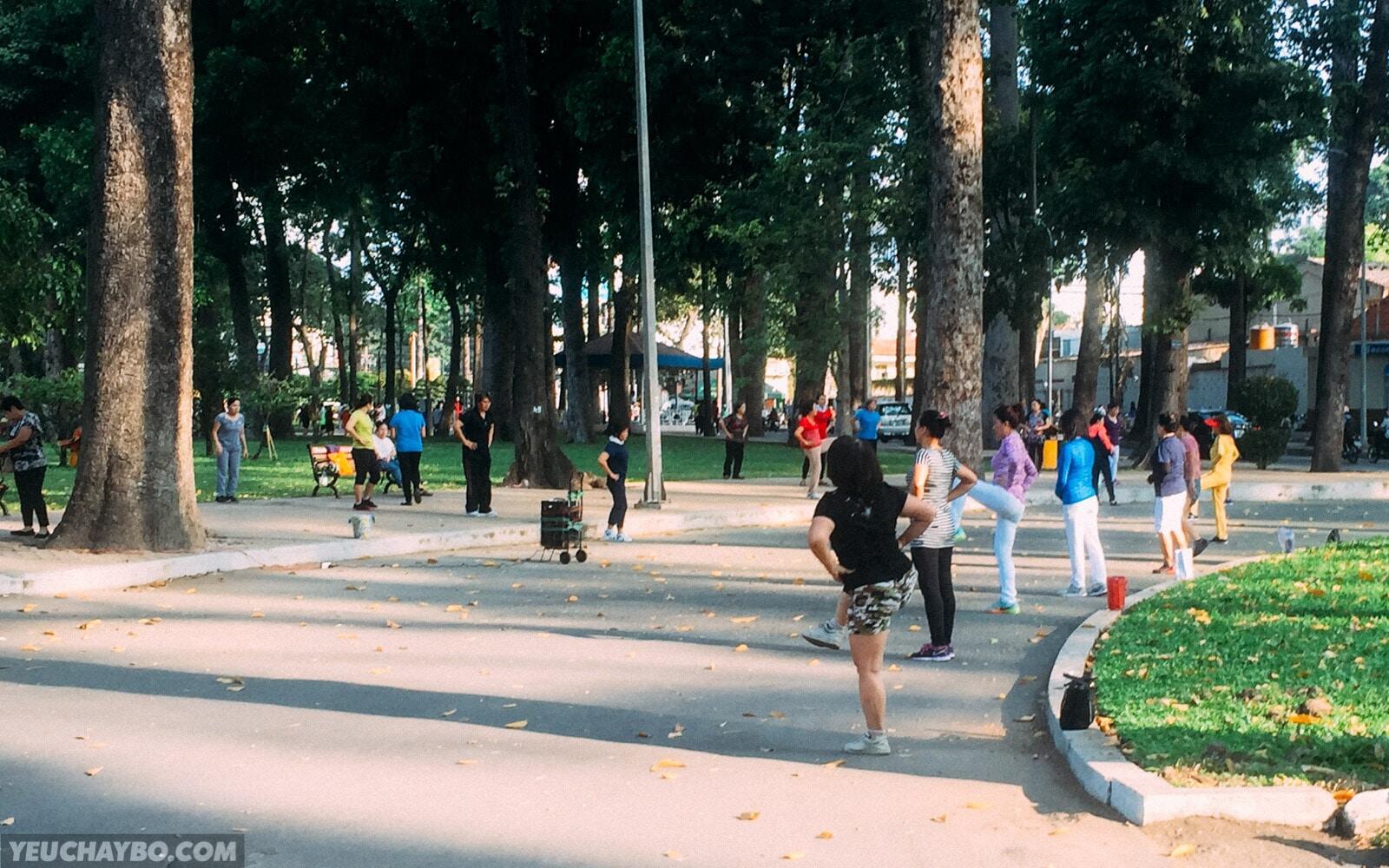 Tổng hợp danh sách địa điểm chạy bộ lý tưởng ở TP. Hồ Chí Minh
