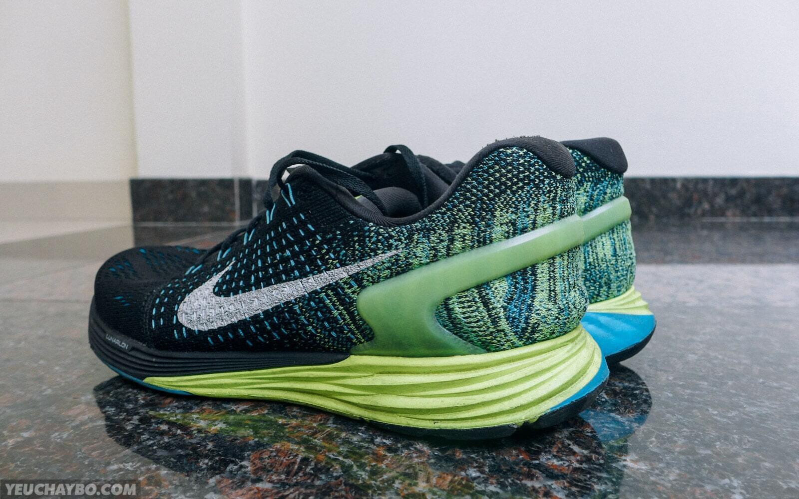 Đánh giá Nike LunarGlide 7 – Đáp ứng sự kỳ vọng
