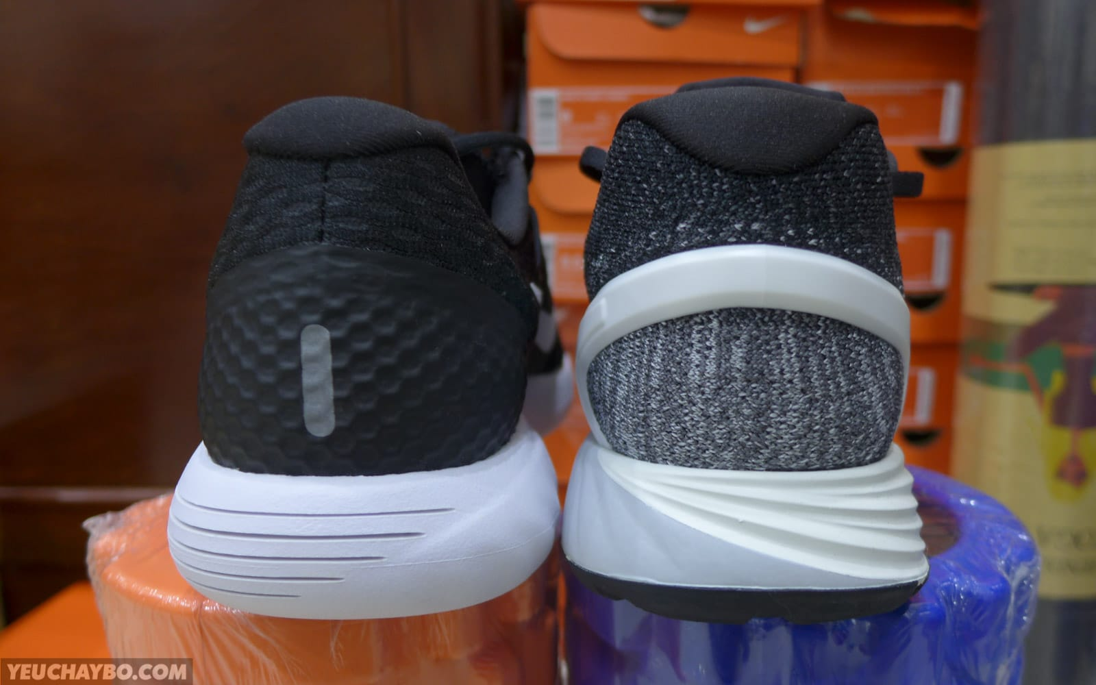 bfd599e84847c Trên chân Nike LunarGlide 8 -  Phần 2  Sánh vai cạnh LunarGlide 7 ...