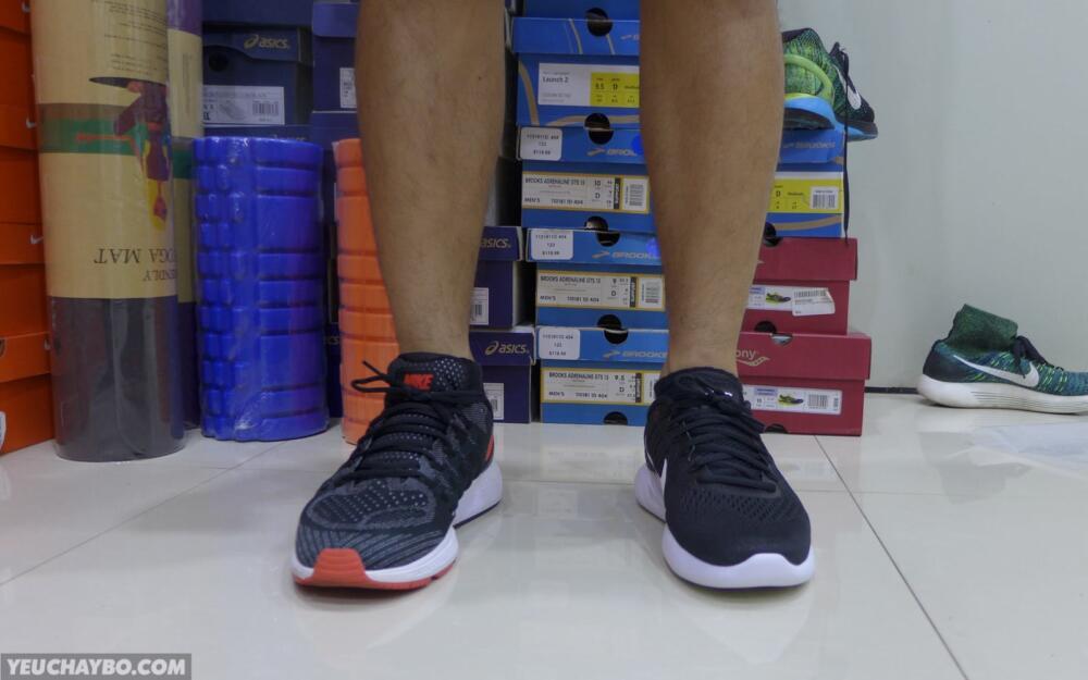 Nike LunarGlide 8 vs Vomero 11 - 01
