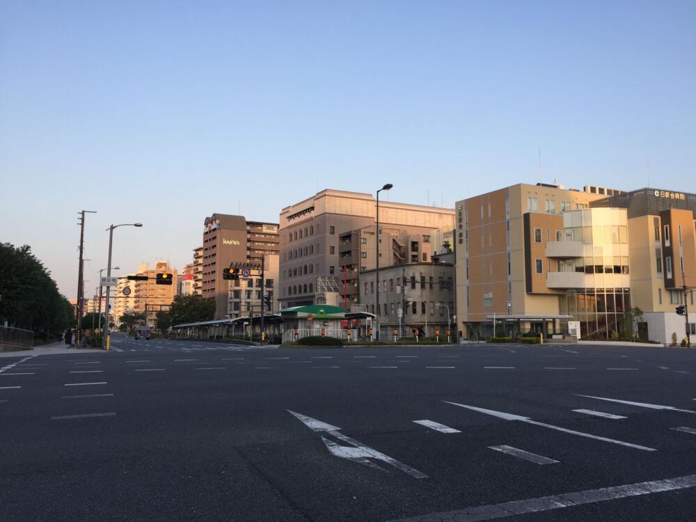 Buổi sáng ở Osaka