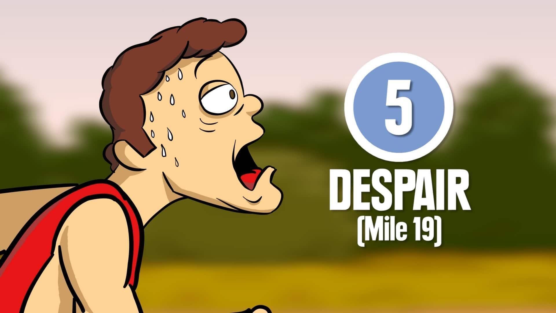 8 giai đoạn của một cuộc thi chạy Marathon