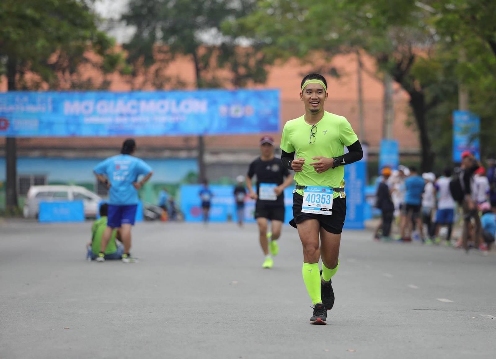 Kí sự HCMC Marathon 2018 – Từ từ mà tiến