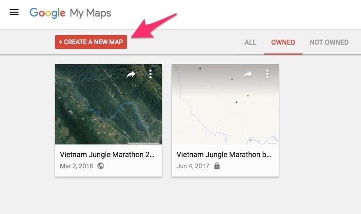 Hướng dẫn tải đường chạy GPS lên Google Maps để định vị khi chạy