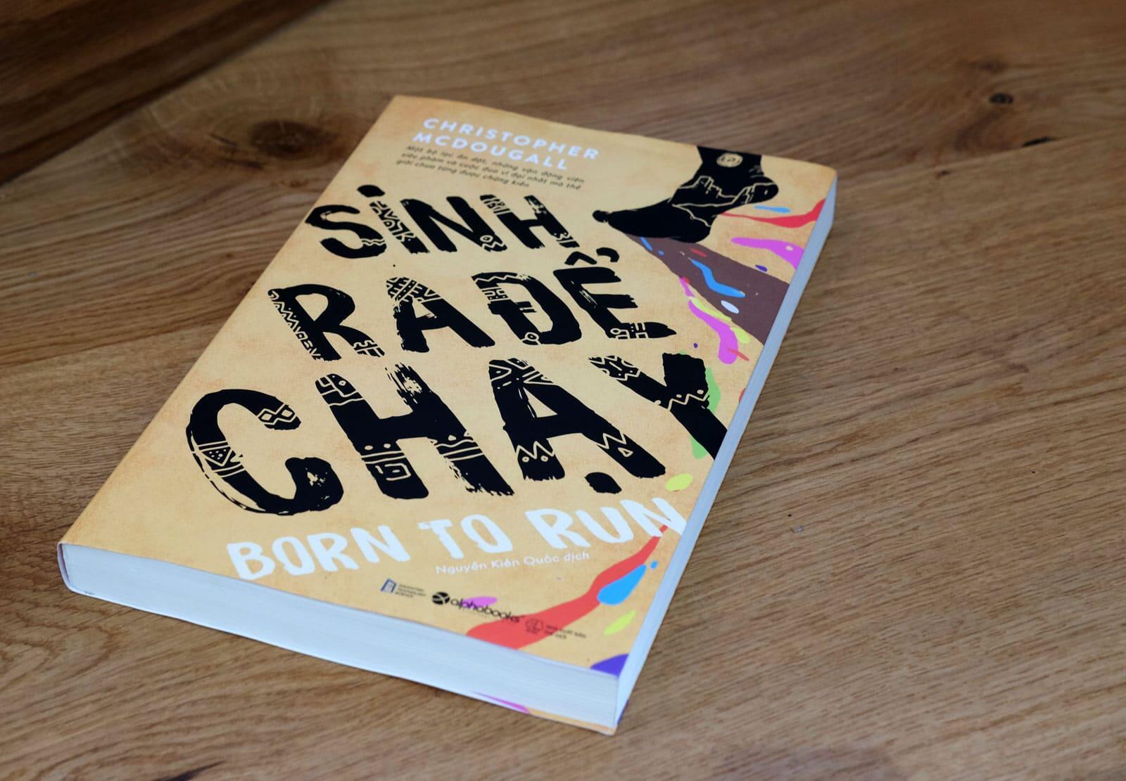 Cảm nhận về sách Sinh Ra Để Chạy (Born to Run) và quà tặng cho bạn đọc